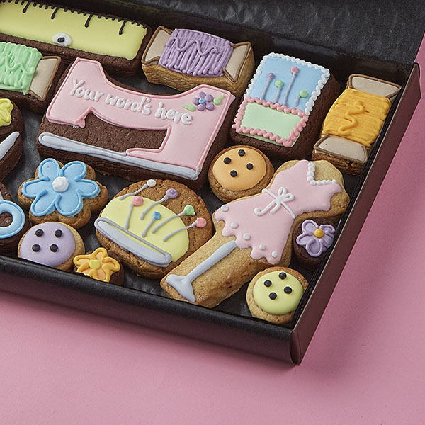 Medium Sewing Cookie Gift Box