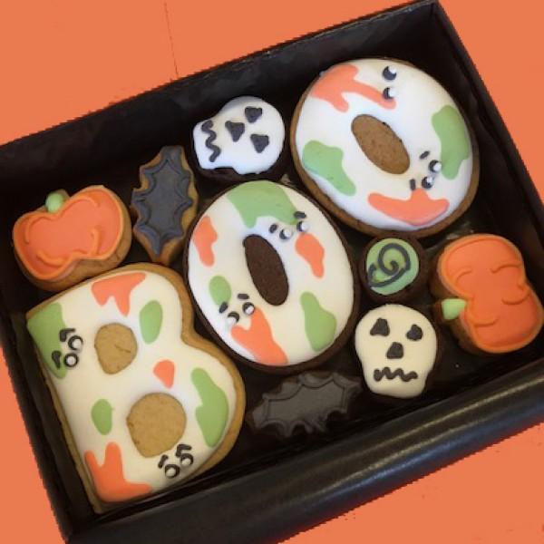Small Halloween BOO Cookie Gift Box