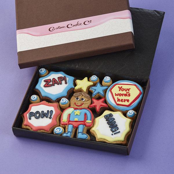 Medium Superhero Cookie Gift Box