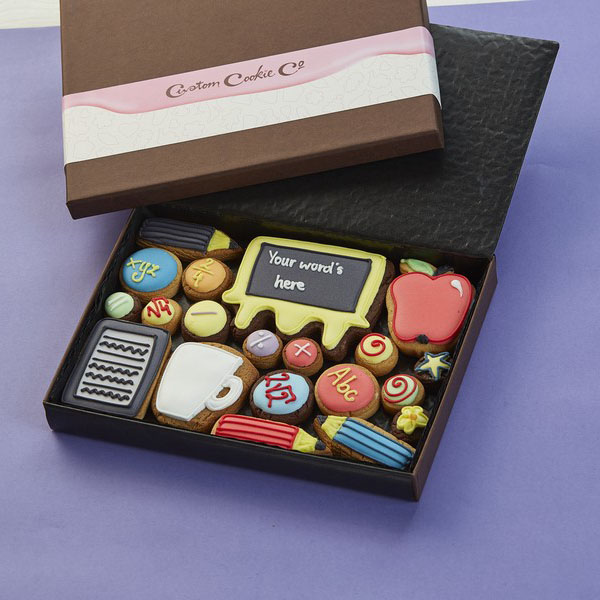 Medium Thank You Teacher Cookie Gift Box