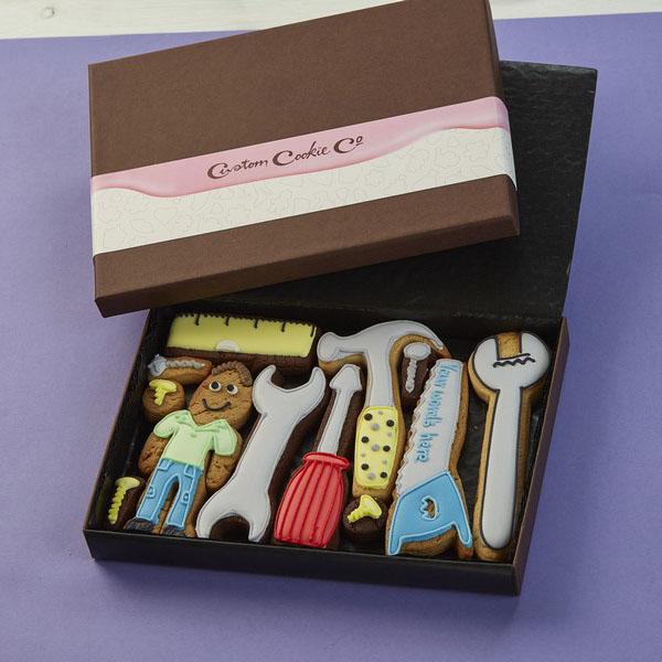 Medium Toolbox Cookie Gift Box