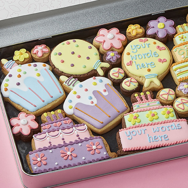 Large Birthday Tin (Personalised)