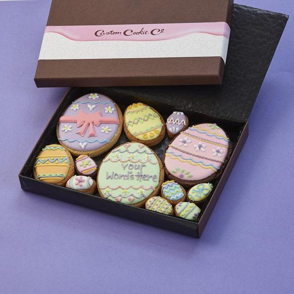 Medium Easter Egg Cookie Gift Box