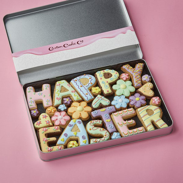 Large Happy Easter Tin (Not personalised)