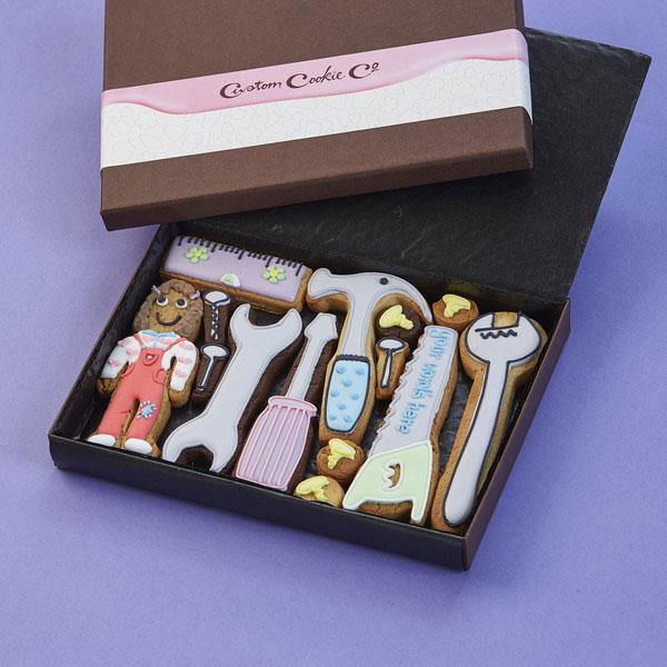 Ladies Tool Box Cookie Gift Box