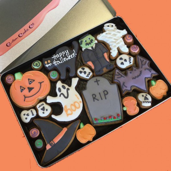Large Halloween Tin (Personalised)