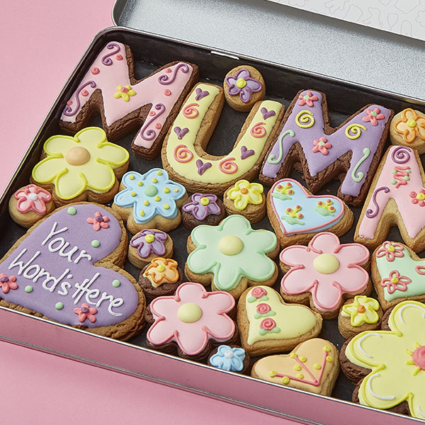 Large Mummy Cookie Gift Tin