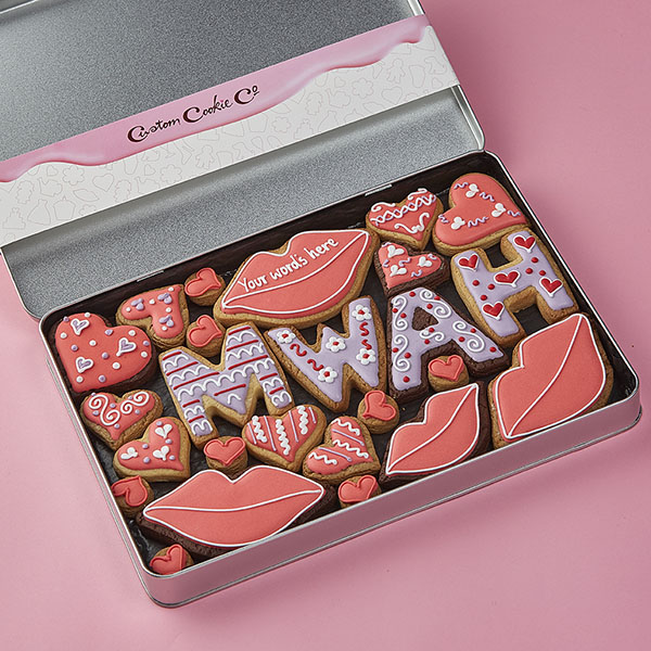 Large Mwah Cookie Gift Tin
