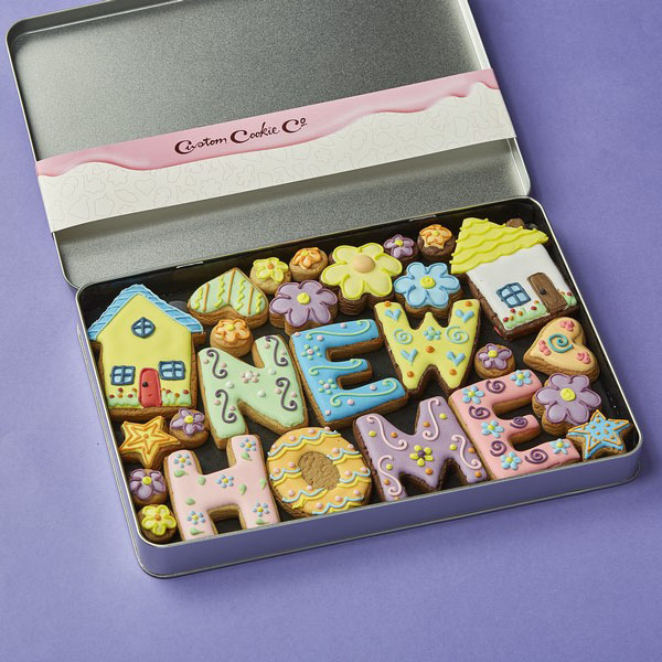 Large NEW HOME Tin (Personalised)