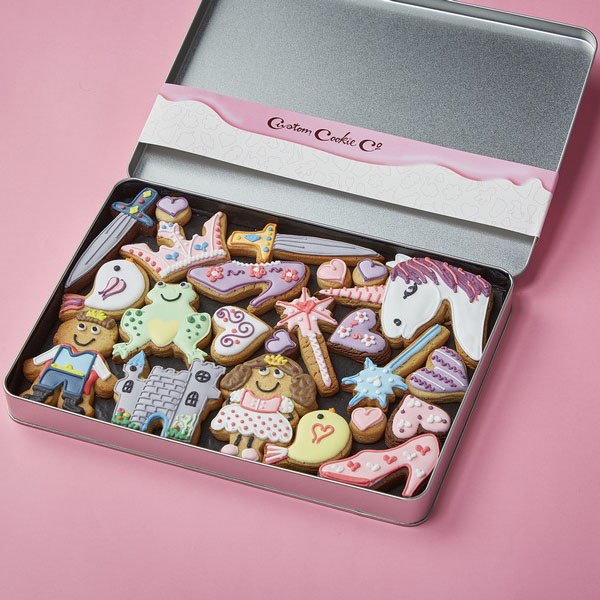 Large Princess Cookie Gift Tin