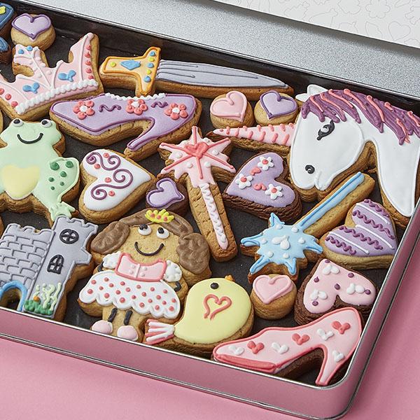 Large Princess Cookie Gift Tin