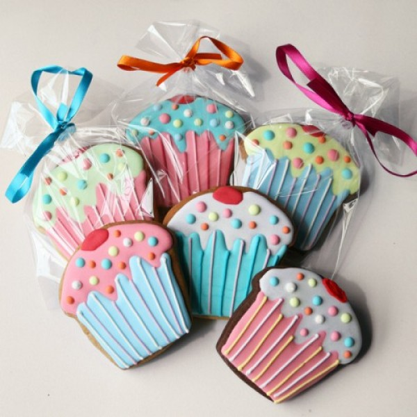 Cherry Cupcake Cookie Favours