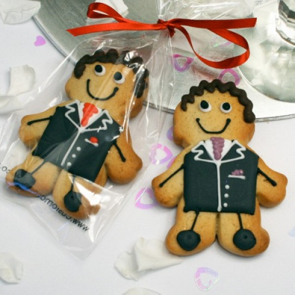 Groom Cookie Favour