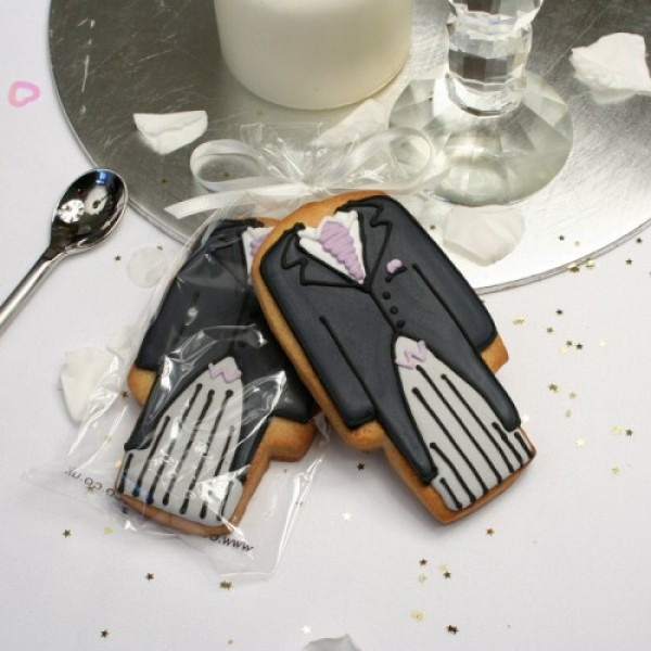 Morning Suit Cookie Favour or Gift