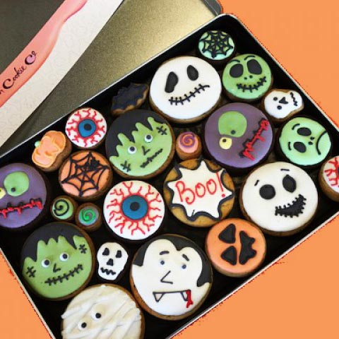 Trick or Treat Yourself To Our Delicious Halloween Cookies