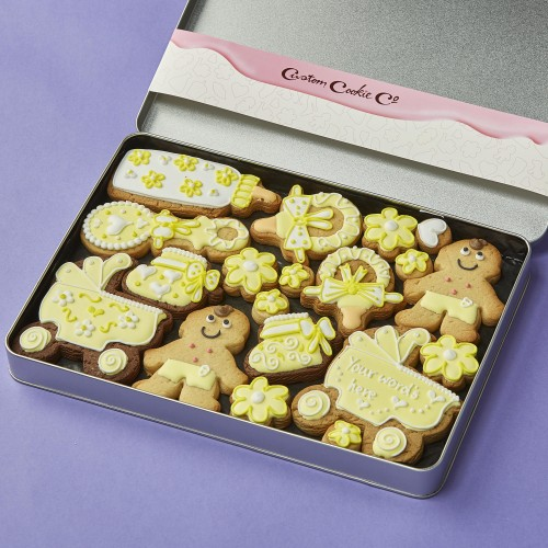 4 Gorgeous Customised Cookie Gifts To Celebrate A New Baby