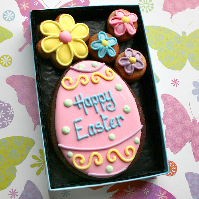 Easter cookie gifts from custom cookie co which came first the bunny or the egg negle Gallery