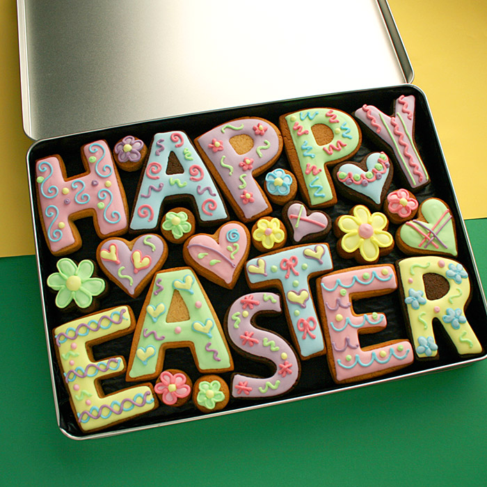 Easter cookie gifts from custom cookie co negle Images
