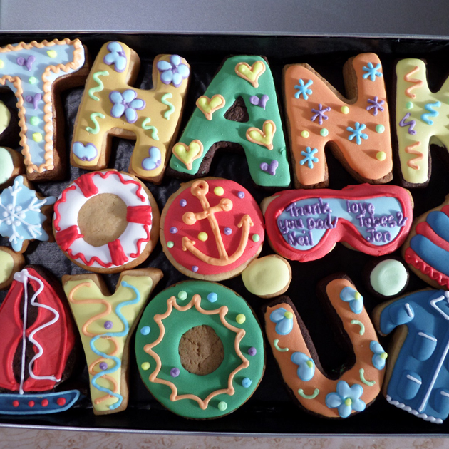 Thank Your Teacher For Being The Best With These Personalised Cookies